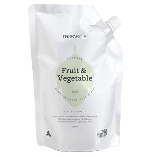 Resparkle Natural Fruit & Veg Wash Refill Pouch