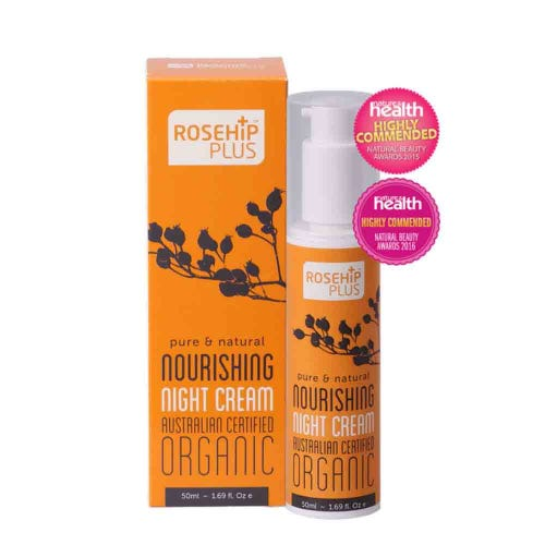 Rosehip Plus Certified Organic Nourishing Night Cream (50ml)