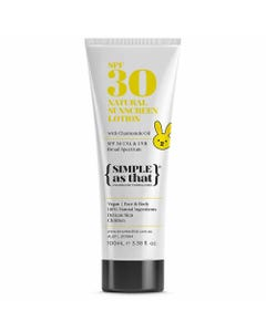 Simple As That Sunscreen For Children (100ml)