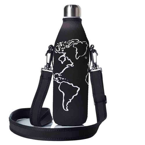 BBBYO Bottle Carry Cover 750ml - Globe