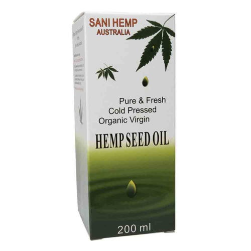 Sani Hemp Organic Pure Hempseed Oil (200ml)