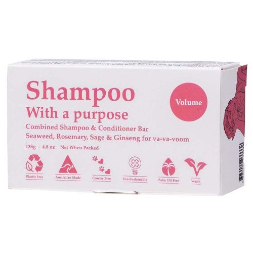 Shampoo With A Purpose - Volume Shampoo/Conditioner Bar