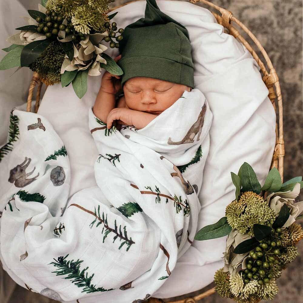 Snuggle Hunny Kids Organic Muslin Wrap - Alpha