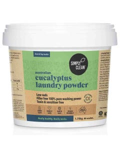 SimplyClean Eucalyptus Laundry Powder (1.75kg) | Flora & Fauna Australia