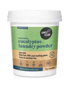 SimplyClean Eucalyptus Laundry Powder (1kg) | Flora & Fauna Australia