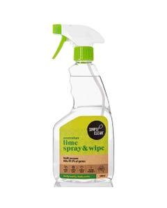 SimplyClean Lime Spray & Wipe (500ml) | Flora & Fauna Australia