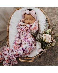 Snuggle Hunny Kids Organic Muslin Wrap - Blushing Beauty