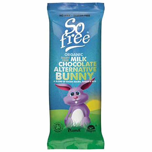 So Free Organic Chocolate Bunny (25g)