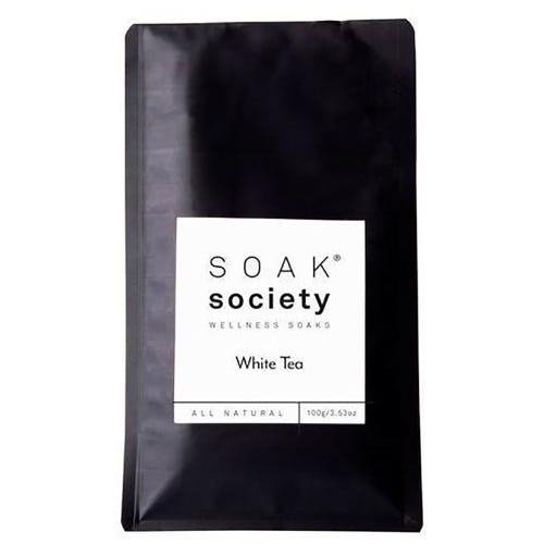 Soak Society White Tea Wellness Soak  Travel Size (100g)