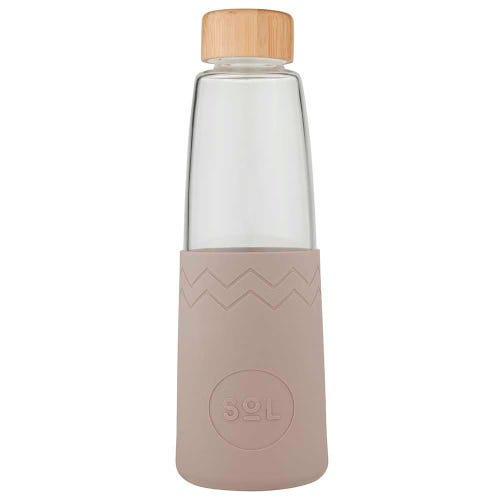 SoL Reusable Glass Bottle Seaside Slate (850ml)