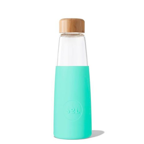 SoL Reusable Glass Bottle Mighty Mint (410ml)