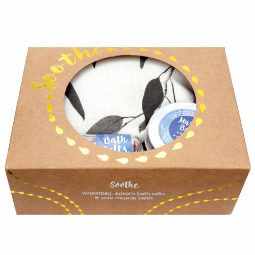 Wheatbags Soothe Gift Pack Gum Black