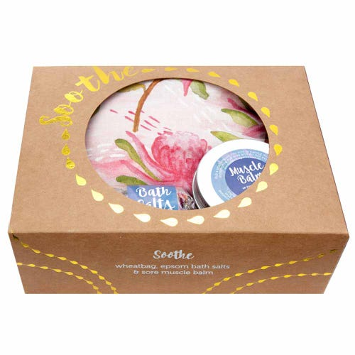 Wheatbags Soothe Gift Pack Waratah