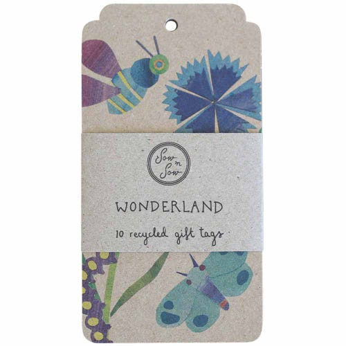 Sow n Sow Gift Tags - Bug Wonderland (10 Pack)
