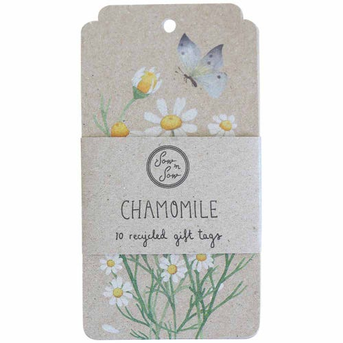 Sow n Sow Gift Tags - Chamomile (10 Pack)