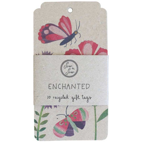 Sow n Sow Gift Tags - Enchanted Garden (10 Pack)