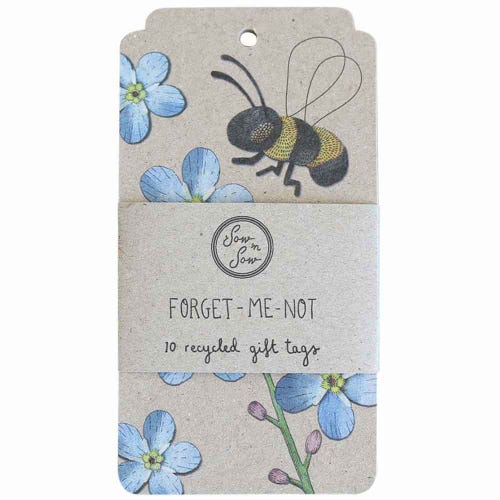 Sow n Sow Gift Tags - Forget-Me-Not  (10 Pack)