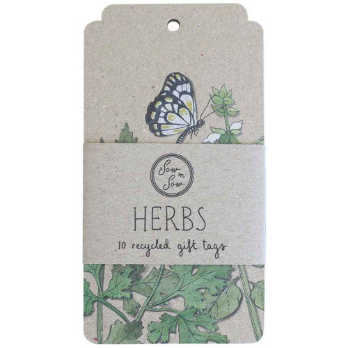Sow n Sow Gift Tags - Trio of Herbs (10 Pack)