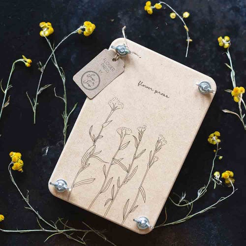 Sow n Sow Flower Press - Billy Buttons