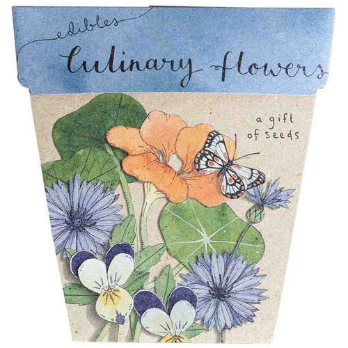 Sow n Sow Gift of Seeds - Culinary Flowers