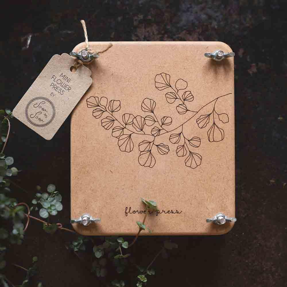 Sow n Sow Mini Flower Press - Fern