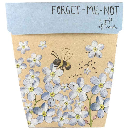Sow n Sow Gift of Seeds - Forget-Me-Not