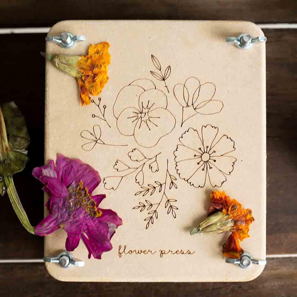 Sow n Sow Mini Flower Press - Posy