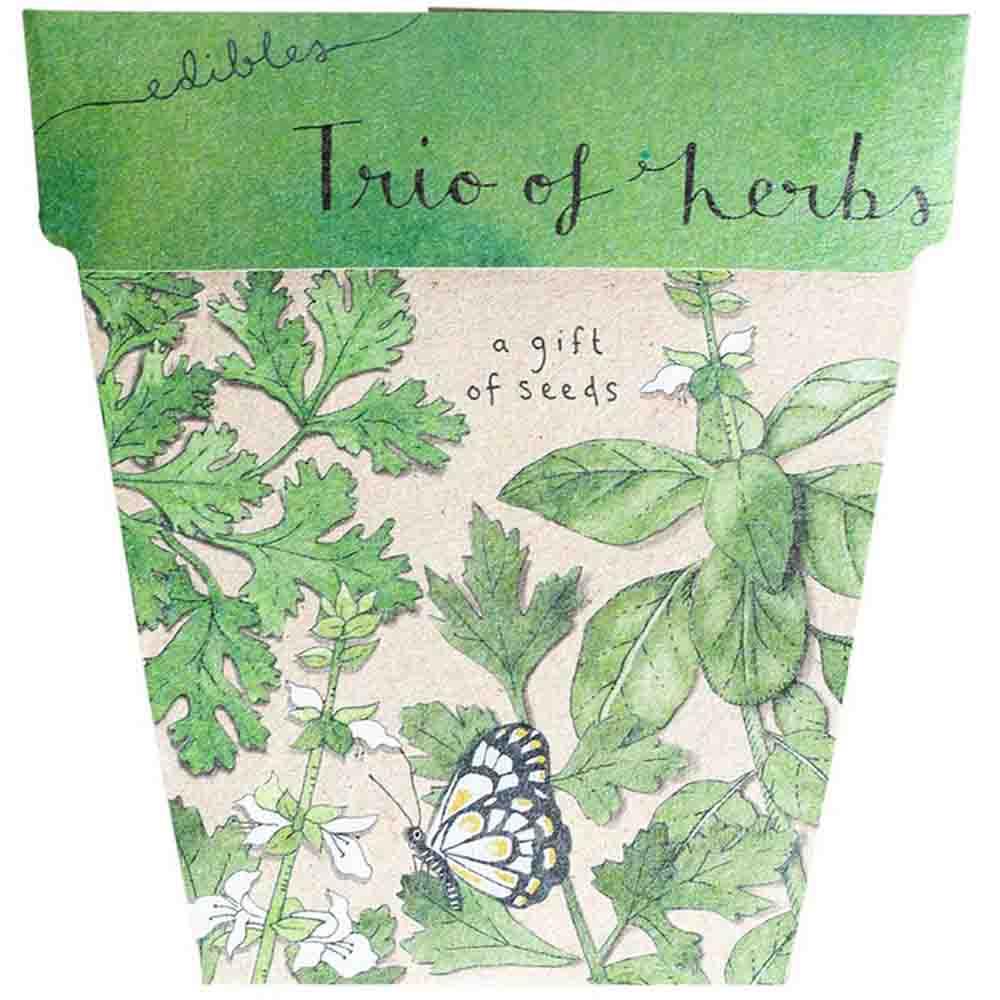 Sow n Sow Gift of Seeds - Trio of Herbs