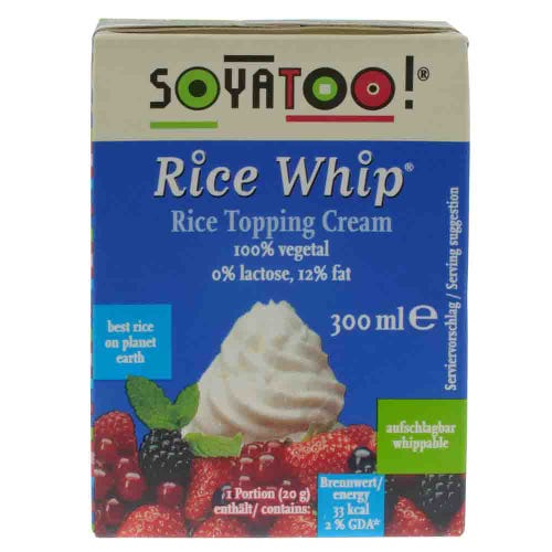 Soyatoo Rice Whip Topping Cream (300ml)