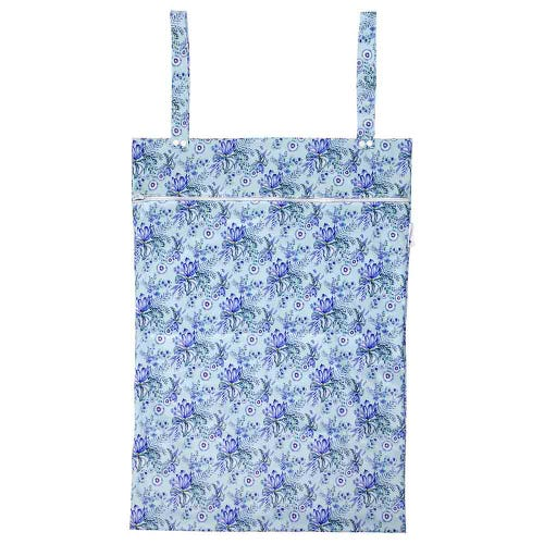 Designer Bums Wet Bag XL - Spearmint Garden