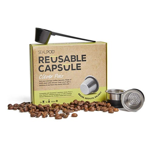 SealPod Reusable Coffee Capsules Two Pack