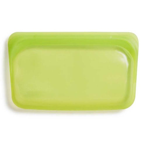 Stasher Reusable Snack Size Bag - Lime