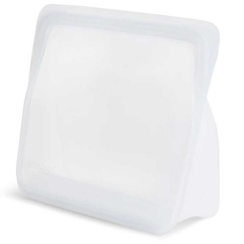 Stasher Reusable Stand Up Food Bag - Clear