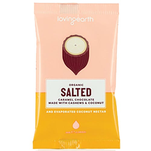 Loving Earth Salted Caramel Organic Chocolate (30g)