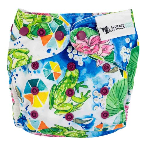 Designer Bums Reusable Nappy - Summer Chorus