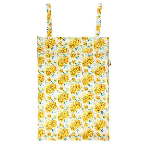 Designer Bums Wet Bag XL - Sunshine Peony