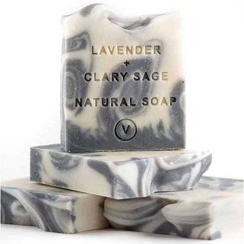The Tasmanian Soap Co - Lavender & Clary Sage Soap (100g)