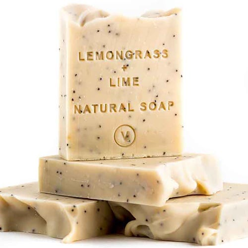 The Tasmanian Soap Co - Lemongrass & Lime Soap (100g)