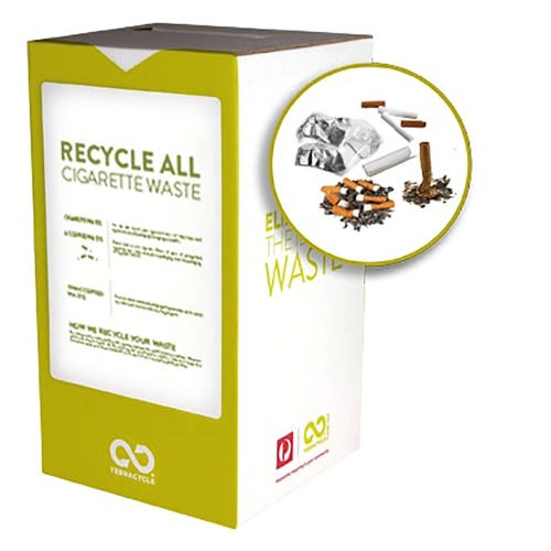 TerraCycle Cigarette Waste Small Box