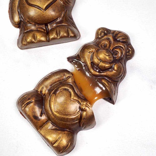 Treat Dreams Caramel Chocolate Bear 2 Pack