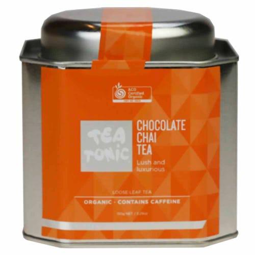 Tea Tonic Chocolate Chai Loose Tea in a Tin 150g