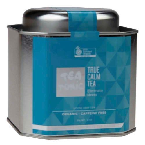 Tea Tonic True Calm Loose Tea in a Tin 50g