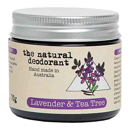 The Natural Deodorant Jar - Lavender & Tea Tree (70g)