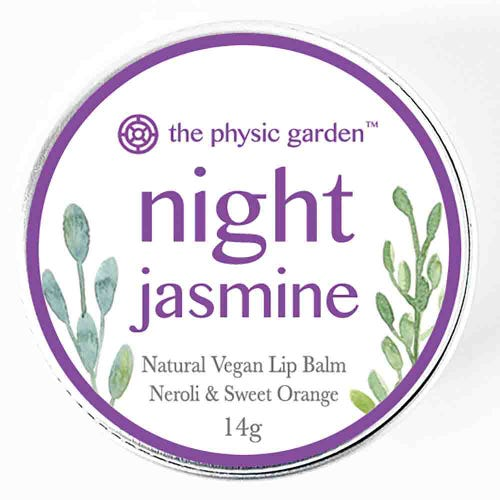 The Physic Garden Lip Balm Night Jasmine (12g)