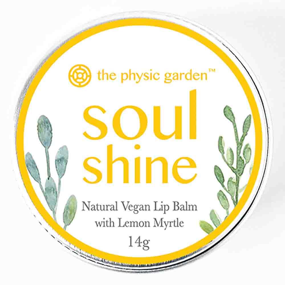 The Physic Garden Lip Balm Soul Shine (12g)