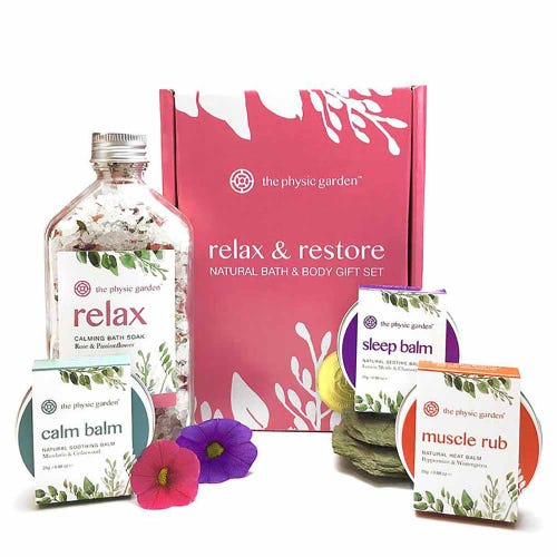 The Physic Garden Skincare Gift Set - Relax & Restore