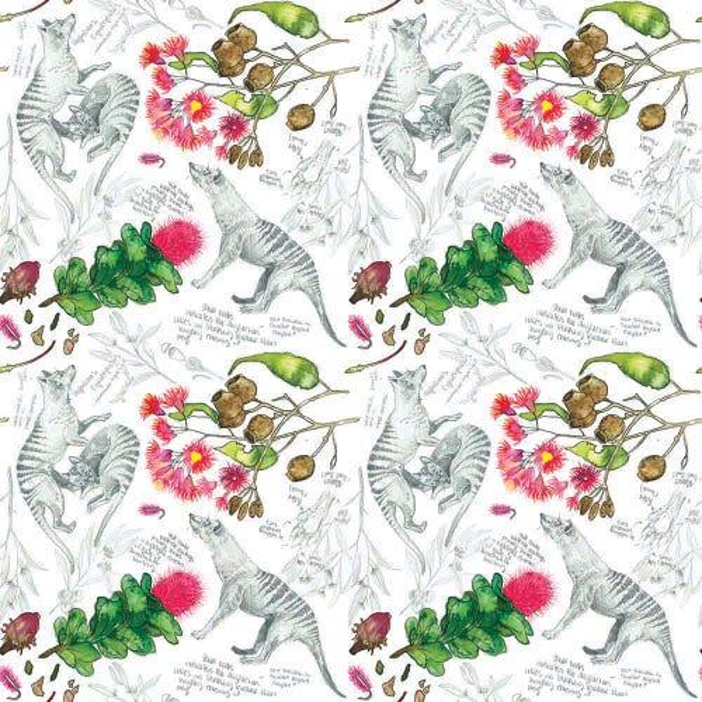 Designer Bums Nursing Pads - Thylacine