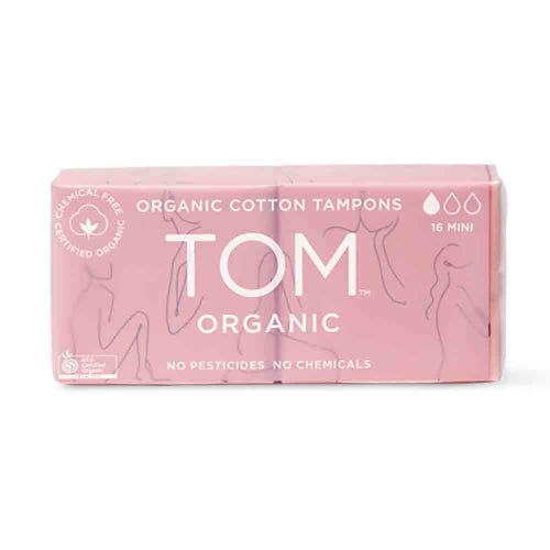 TOM Organic Mini Tampons (16 pack)