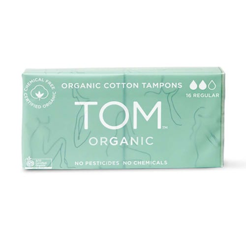 TOM Organic Regular Tampons (16 pack)