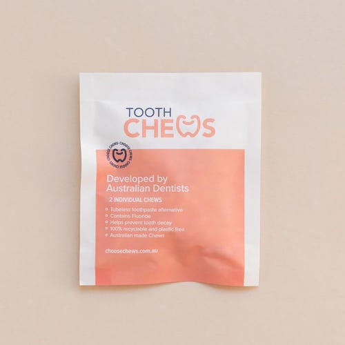 ToothChews Toothpaste Tabs Sample (2 Tablets)
